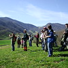 Bee Branch Farm Hike : The Southern Appalachian Highlands Conservancy hosted a beautiful hike on the Bee Branch Farm in the Sandy Mush Township of Buncombe County, NC. Terri Wells, one of the family members of the Bee Branch Farm was be our guide as we make a three mile loop, including panoramic views of the entire valley.