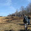 Hickory Nut Gap Farm Hike : Southern Appalachian Highlands Conservancy led a guided hike on the Hickory Nut Gap Farm. Located in the Fairview Community of Buncombe County, the farm is a 600-acre fourth generation working landscape, with 290 acres recently protected through a conservation easement held by SAHC. 